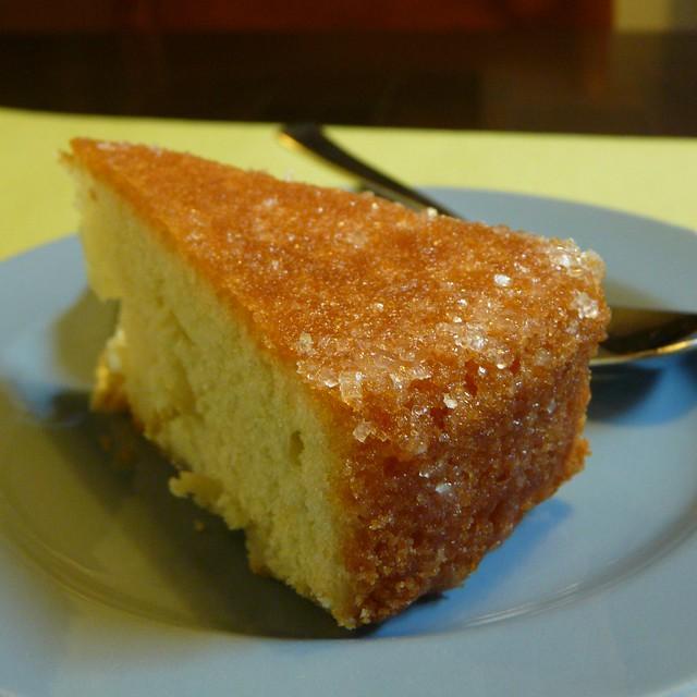 lime cake with lime glaze