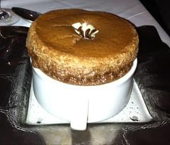 Baked Chocolate Souffle Cake