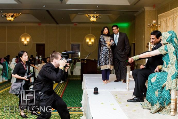Behind the Scenes | Yusra & Rahil's Valima | Atlanta Pakistani Muslim Wedding Photographer