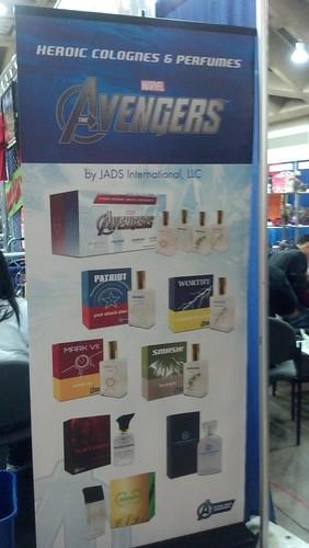 Avengers Perfume at Baltimore Comic-Con