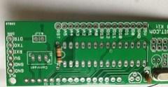 Step 2- Fix a 10kOhm resistor.