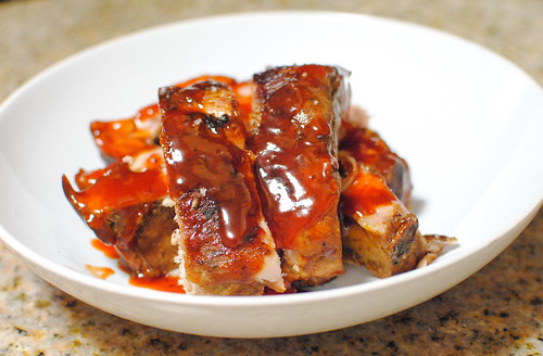 plated ribs