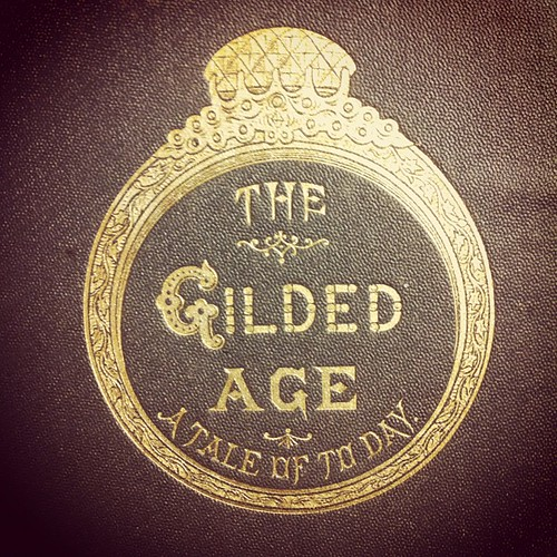 Apt book cover: the gilded age. by Carambula