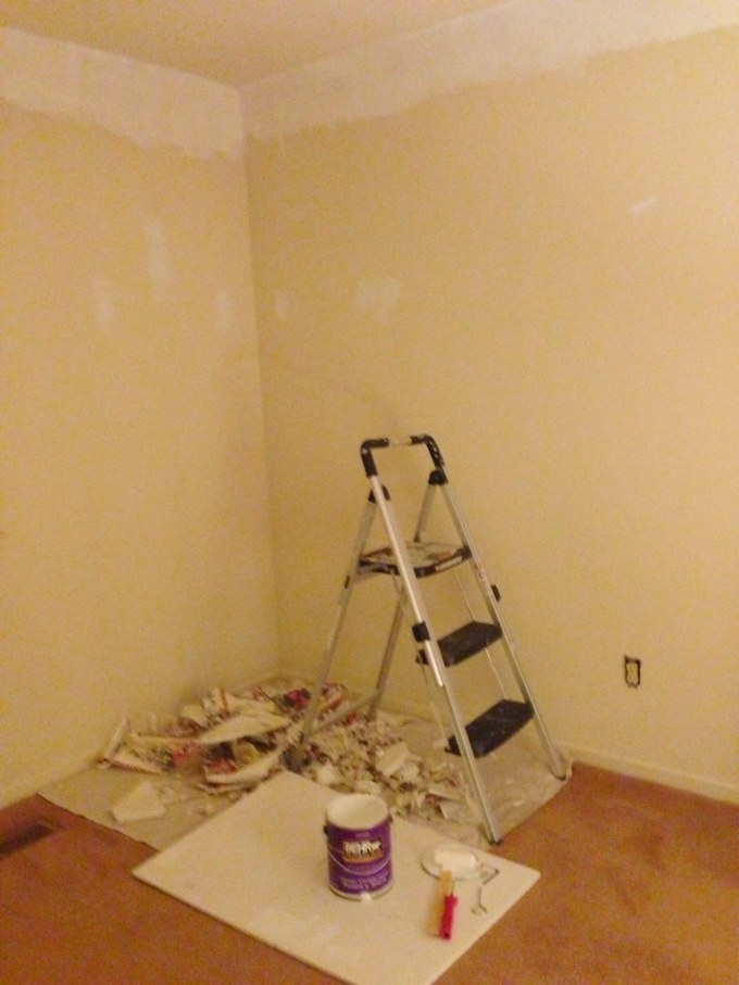 Prepping the Office Room
