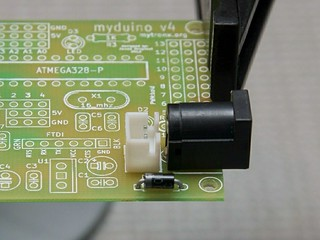 S2Duino (2-1) Power Connectors
