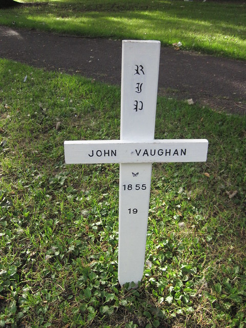 John Vaughan Jr Grave, Middlesbrough
