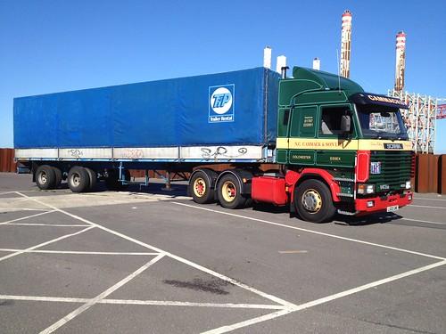 Scania 143 + Tilt