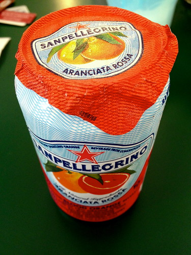 Blood Orange San Pellogrino