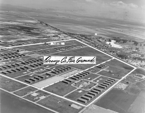 Santa Ana Army Air Base/Orange County Fairgrounds, 1949 by Orange County Archives