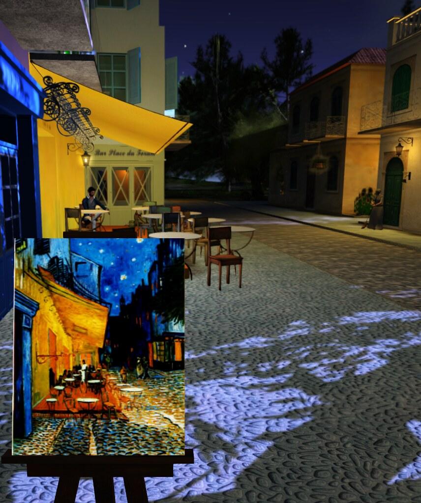 Arles: Café Terrace At Night