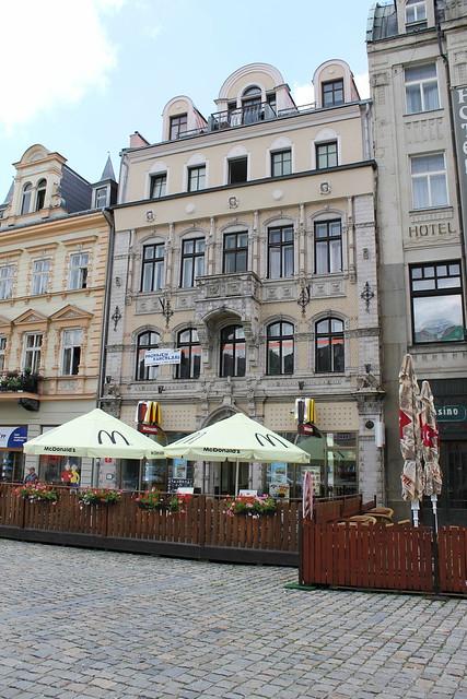 Mc Donald's on Liberec Town Square