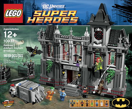 Lego Batman 10937 Arkham Asylum Breakout Unveiled At Brickcon News