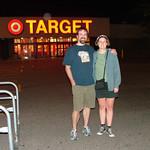 Dave and Jenn at the original Target