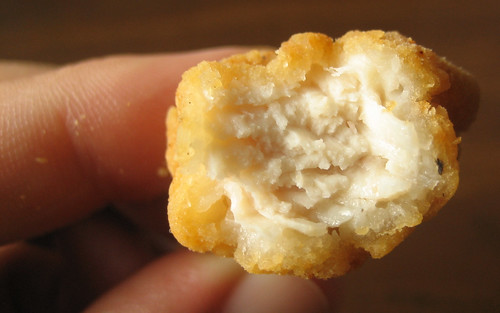 Burger King Popcorn Chicken Innards
