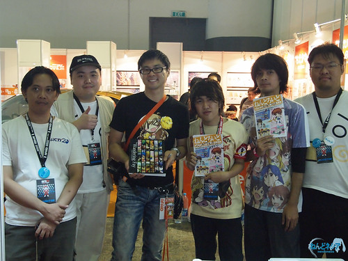 Nendonesia crew and Danny Choo
