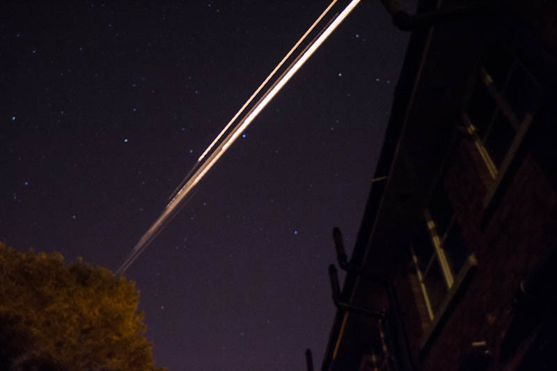 fireball or space debris