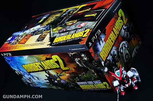 Borderlands 2 Ultimate Loot Chest Limited Edition PS3 Review Unboxing (13)