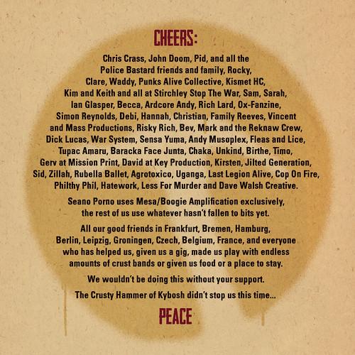 Last Under The Sun - Hooligan Jihad CD artwork
