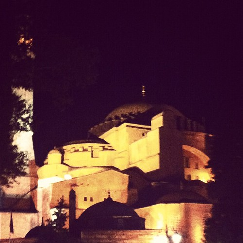and then it led us here. The Hagia Sophia. #turkey