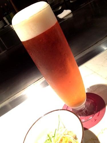 ビールと前菜@木かげ