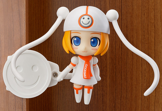 Nendoroid Gumako is displayed with clip stand