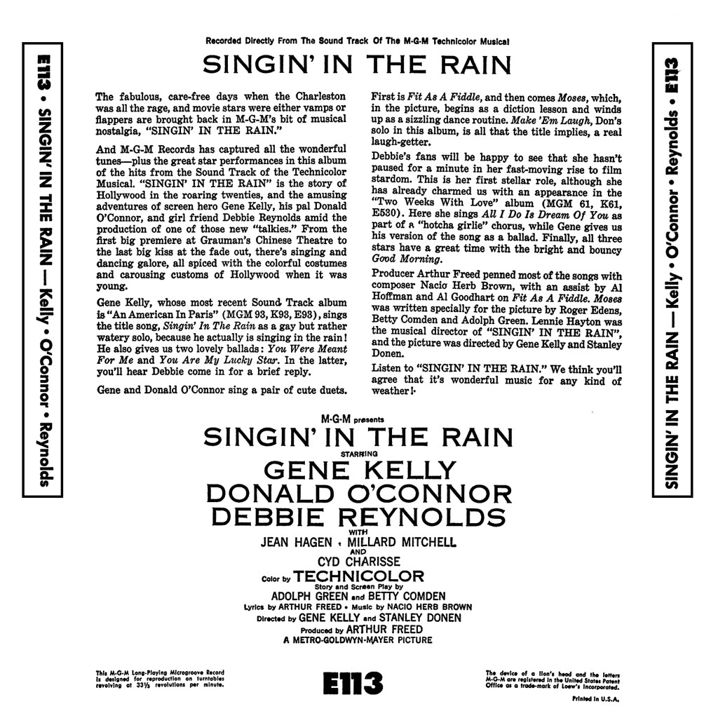 Nacio Herb Brown - Singin' in the Rain