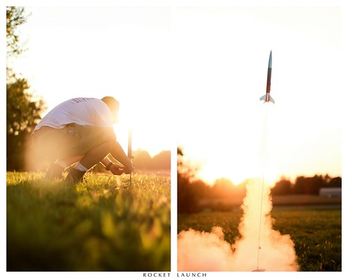 Day 121 - 365 Rocket Launch