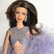 Lynda Carter Barbie Doll created by Donna Brinkley.