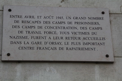 Orsay station plaque