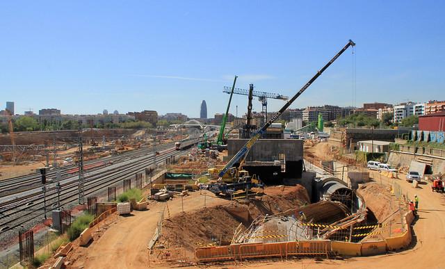 Obras metro y colector - 14-09-12