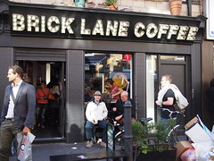 Brick Lane Coffee. Brick Lane Sunday Market