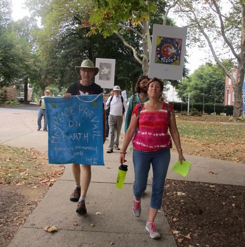 Bethlehem, PA - Peace Pole Planting during CNV Week of Actions 2016 (27)