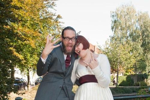 Marriage rawks!