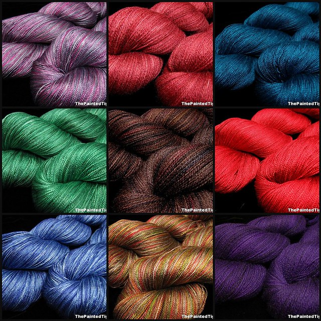 Lace Yarn Update October 2012