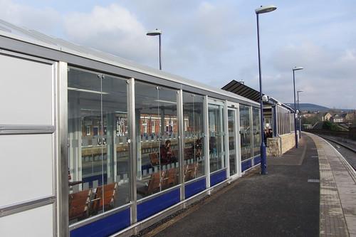 Stalybridge Station, from second Manchester platform