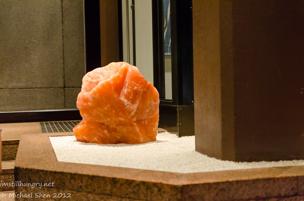 just your regular marble, or a chunk of Himalayan salt? Did not lick to find out