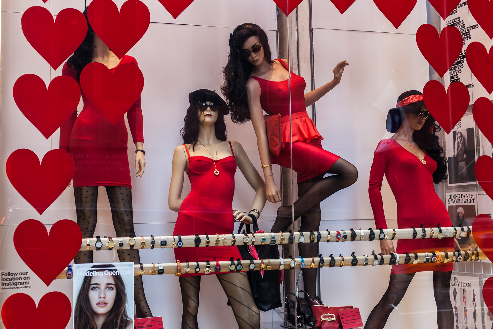Red Dresses by wwward0
