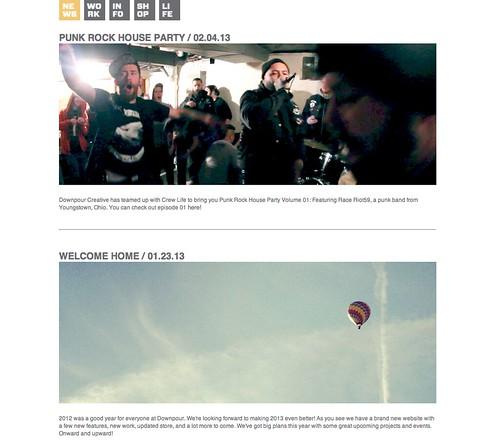 Downpour Creative 6.0 Web