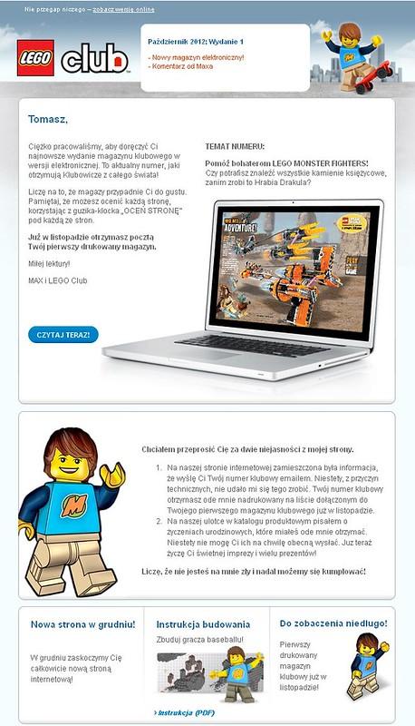 LEGO Club - informacje