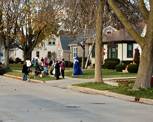 Trick or Treating in My Neighborhood