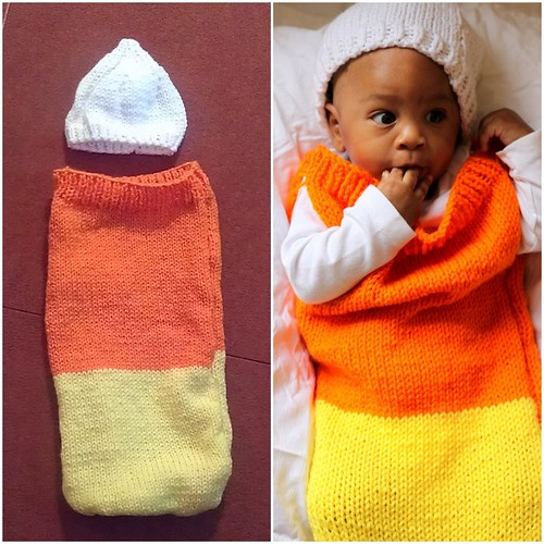 Candy Corn Before & After