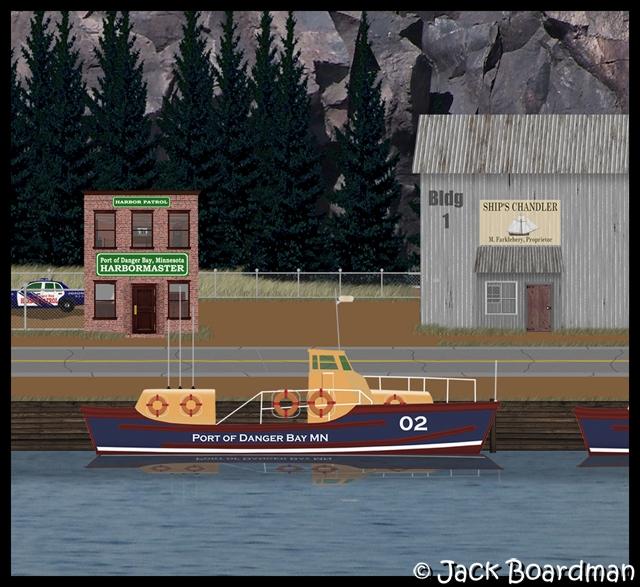 Harbor Patrol, Harbormaster offices & Ship's Chandler