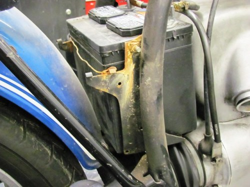 Battery Box Rust