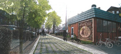 Columbia Street alley, Hartford, re-imagined (by: Nelson Byrd Woltz for US EPA)