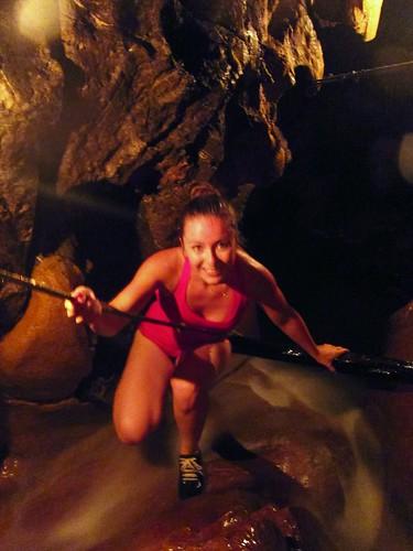 Waterfall climb