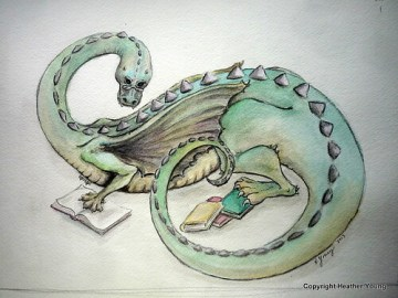 Book Dragon- Heather Young 2013
