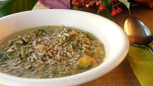 Lattuce & Chestnut soup - Minestra di lattuga e castagne