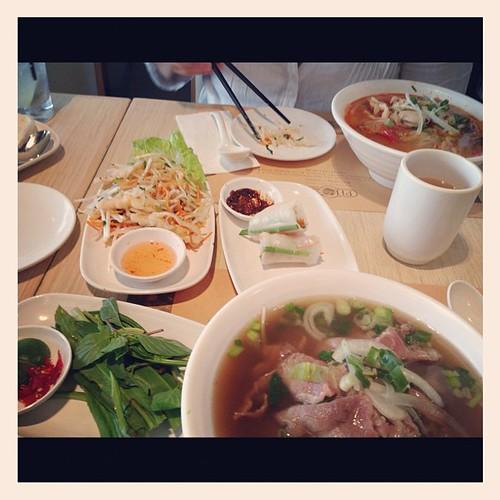 Lunch, Vietnamese style (in HK)