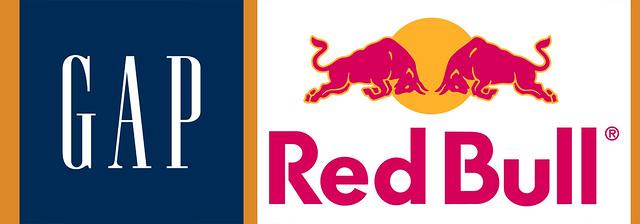 Gap redbull logo