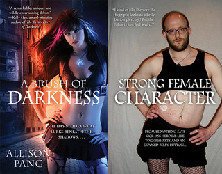 Fishnets by Jim C. Hines - a critique of book covers